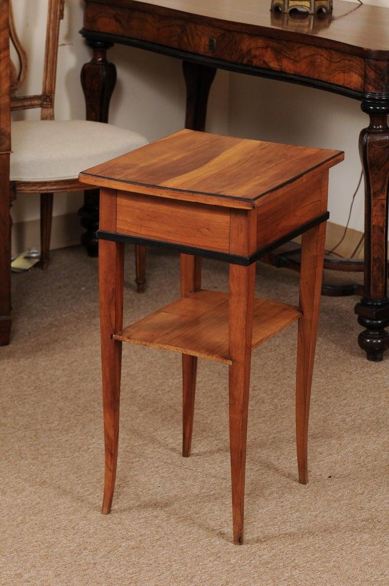 Biedermeier Cherrywood Side Table, circa 1850 For Sale 3