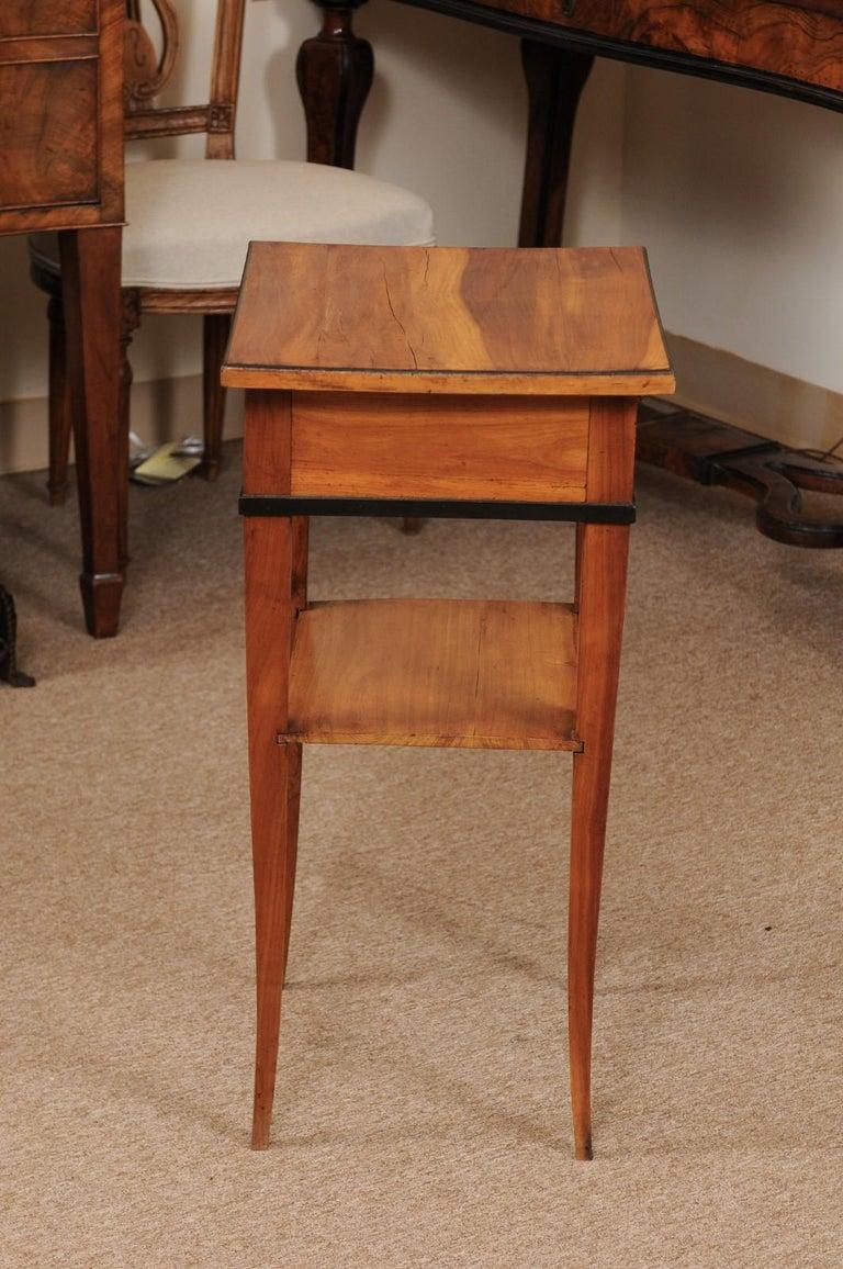 Biedermeier Cherrywood Side Table, circa 1850 For Sale 2