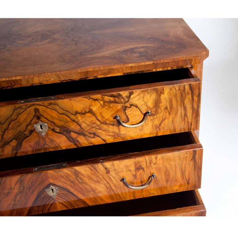 Biedermeier Chest of Drawers, circa 1830 For Sale 4