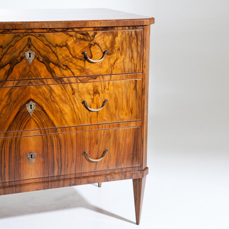 Mid-19th Century Biedermeier Chest of Drawers, circa 1830 For Sale