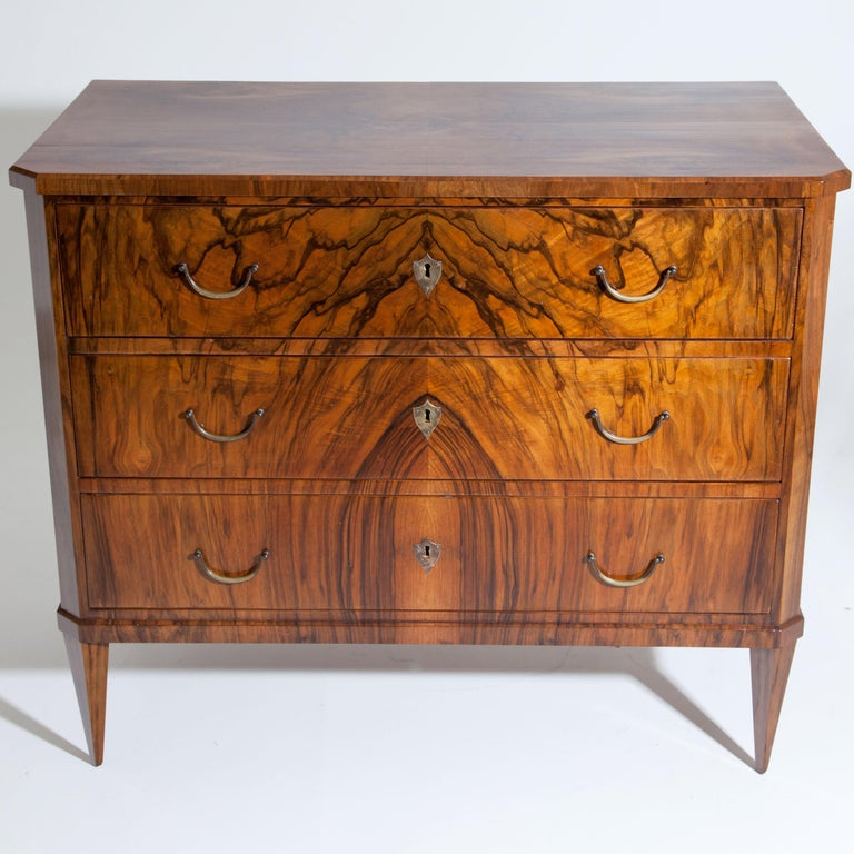 Biedermeier Chest of Drawers, circa 1830 For Sale 2