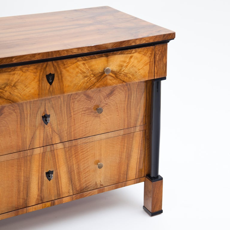 Early 19th Century Biedermeier Chest of Drawers, Franconia, circa 1820 For Sale