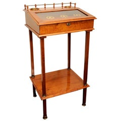 Biedermeier Cigar Desk