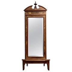 Biedermeier Console Mirror, circa 1880