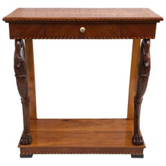 Biedermeier Console Table, Southern Germany, 1820