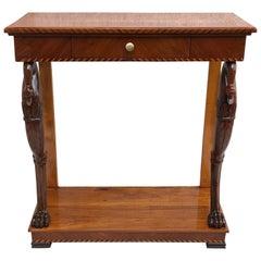 Biedermeier Console Table, Southern Germany, 1820