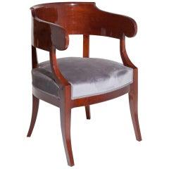 Biedermeier Desk Chair, circa 1820