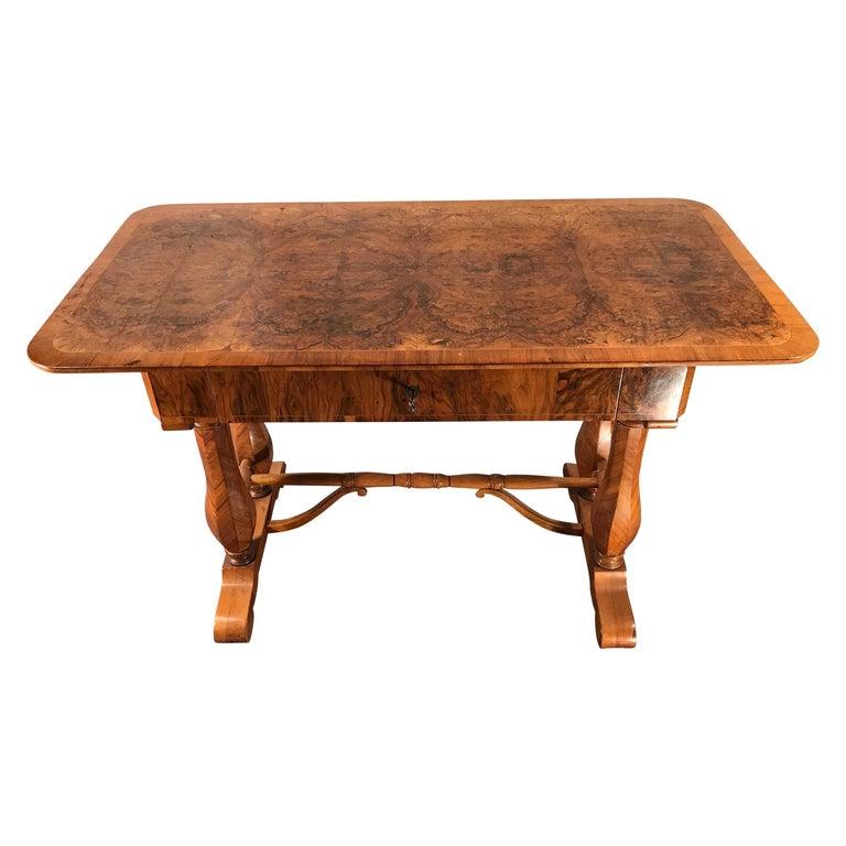 Biedermeier Desk, Vienna 1810-1820, Style of Josef Danhauser For Sale