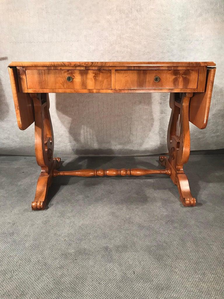 Veneer Biedermeier Desk, Vienna 1820 For Sale