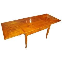 Biedermeier Expandable Table, Ash, Austria circa 1830