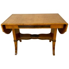 Biedermeier Fruit-Wood Sofa Table or Partners Desk