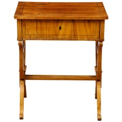 Biedermeier Fruitwood Occasional Table