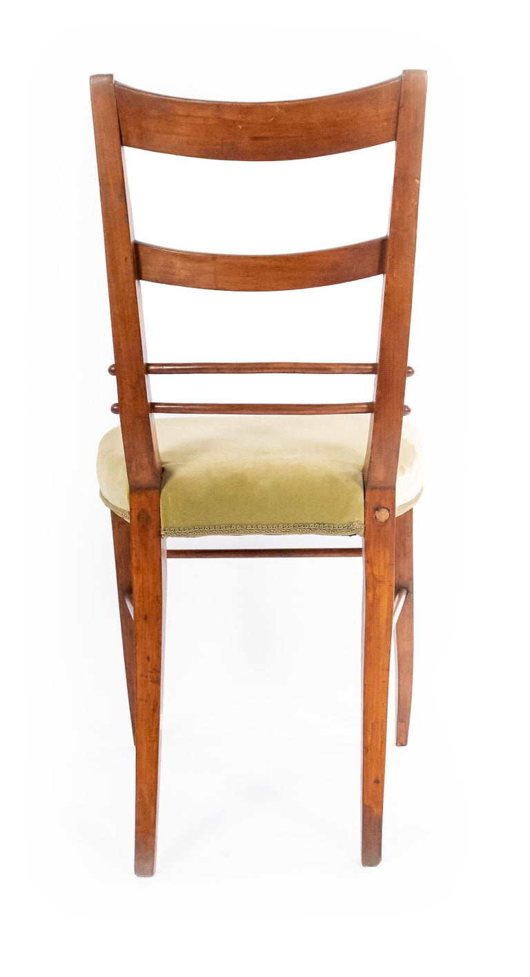 Biedermeier Ladder Back Side Chairs In Good Condition For Sale In New York, NY