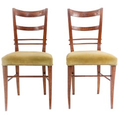 Biedermeier Ladder Back Side Chairs