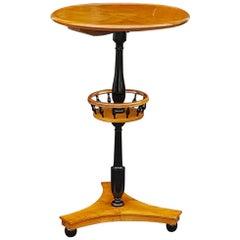 Biedermeier Late 19th Century Maple Side Table