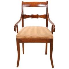 Biedermeier Mahogany Chair, circa 1830
