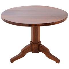 Biedermeier Mahogany Salon Table, circa 1830