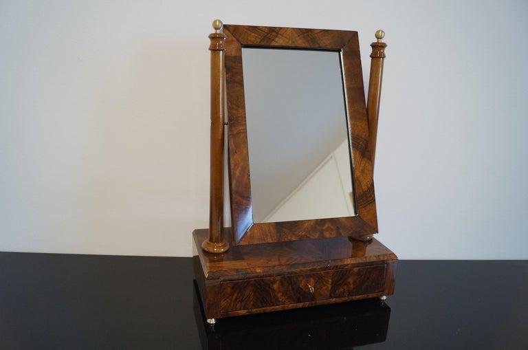 Biedermeier mini dressing table from 1820.