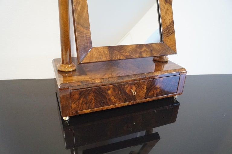 Austrian Biedermeier Mini Dressing Table from 1820 For Sale
