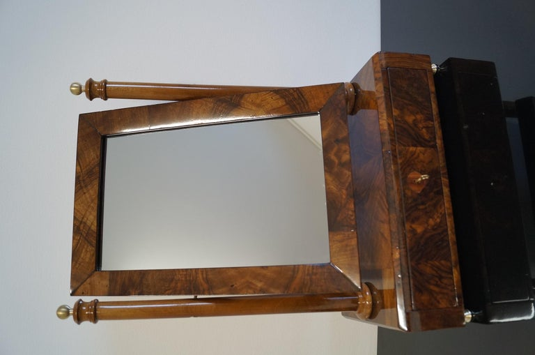 Early 19th Century Biedermeier Mini Dressing Table from 1820 For Sale