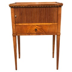 Biedermeier Night Stand or Small Cabinet, South Germany 1815-20