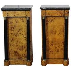 Biedermeier Nightstand Set of Two