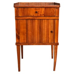 Biedermeier Nightstand, South German 1820, Cherry