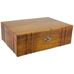 Biedermeier Nut Wood Box, Austria, circa 1850