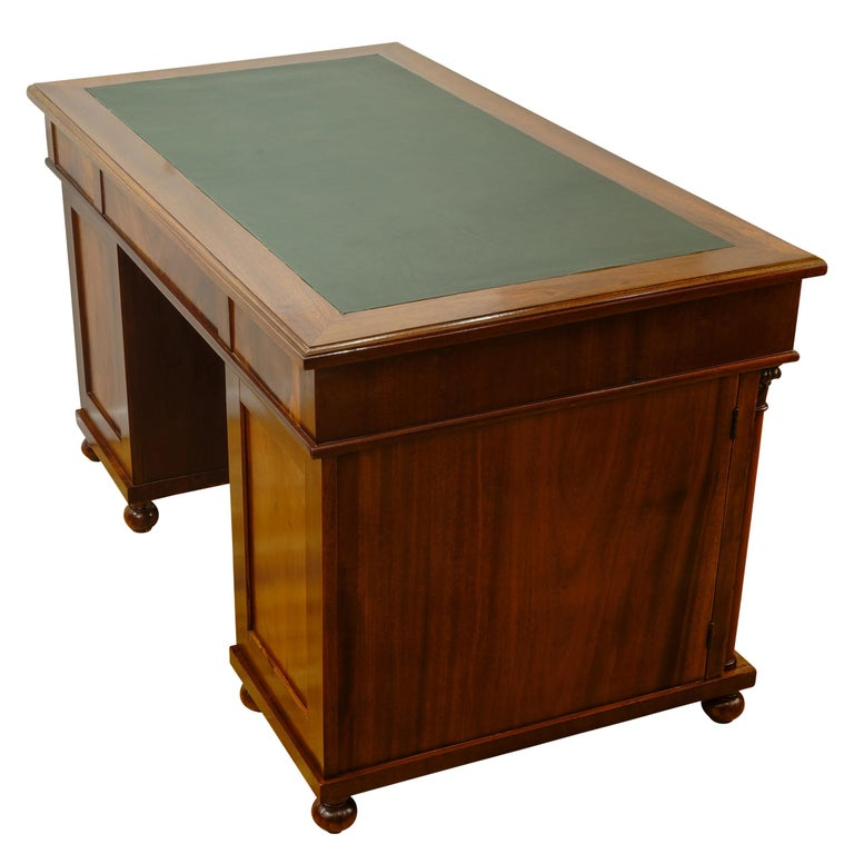 Swedish Biedermeier Office Desk, Sweden, 1880 For Sale