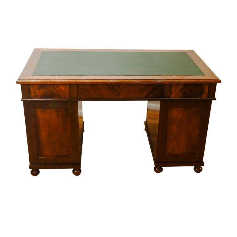 Woodwork Biedermeier Office Desk, Sweden, 1880 For Sale