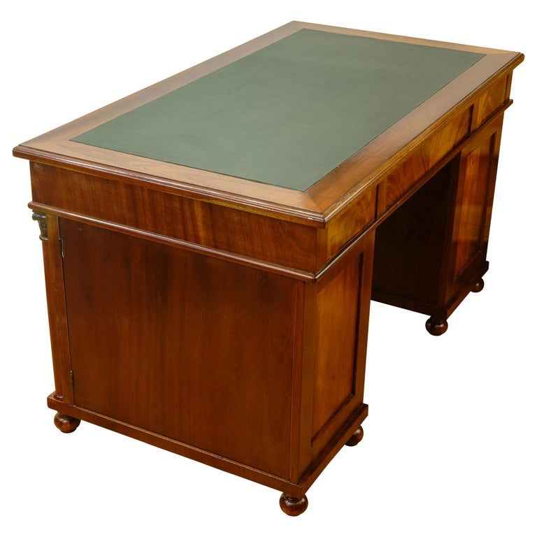 Biedermeier Office Desk, Sweden, 1880 In Fair Condition For Sale In New York, NY