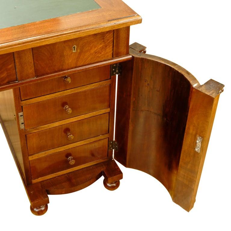 Biedermeier Office Desk, Sweden, 1880 For Sale 2