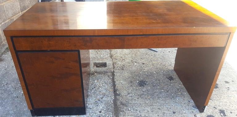 Biedermeier Partners Pedestal Desk Ormolu Style Detail, Early 20th Century In Good Condition For Sale In LONDON, GB
