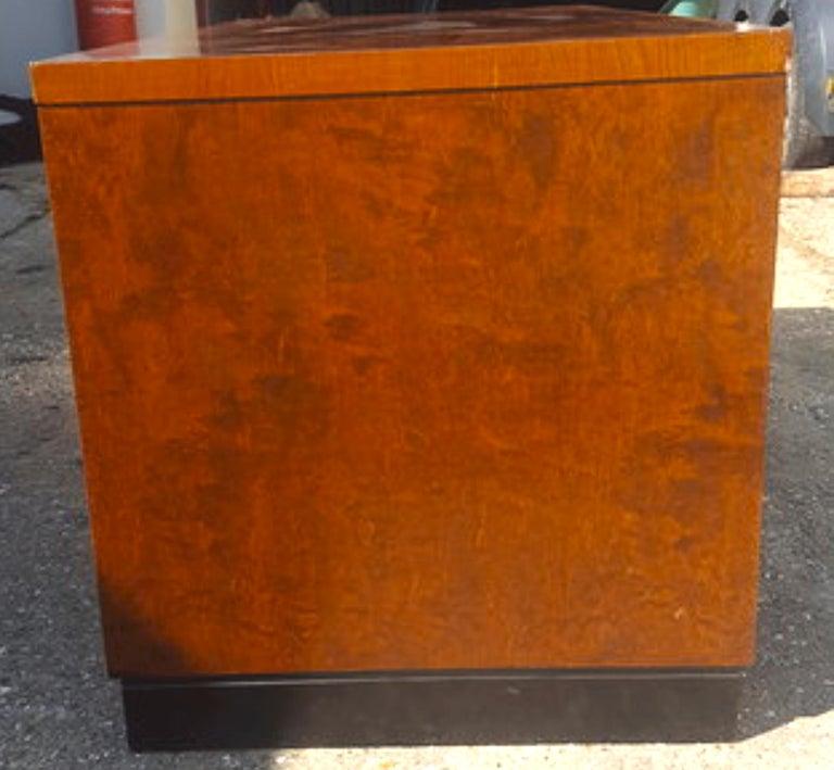 Biedermeier Partners Pedestal Desk Ormolu Style Detail, Early 20th Century For Sale 1