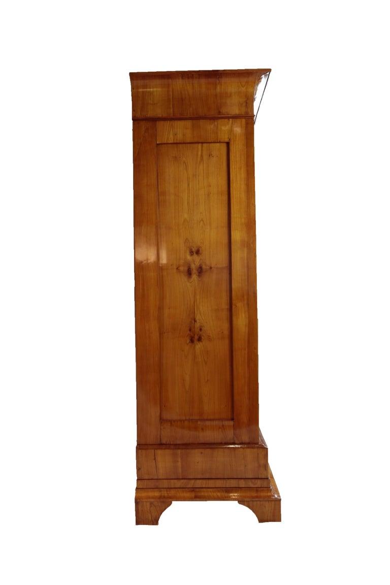 Biedermeier Period Cupboard Cabinet, Cherrywood, circa 1820 3