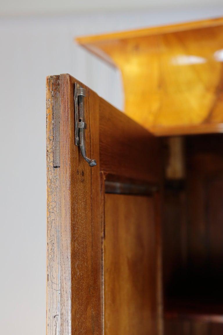 Biedermeier Period Cupboard Cabinet, Cherrywood, circa 1820 9