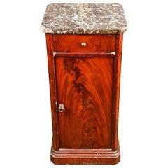 Biedermeier Pillar Dresser Sideboard Cabinet, circa 1820