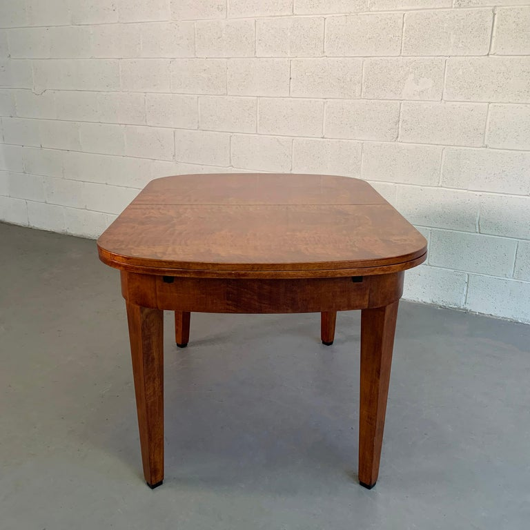 Biedermeier Satinwood Expanding Dining Table by Ruscheweyh Tisch For Sale 4