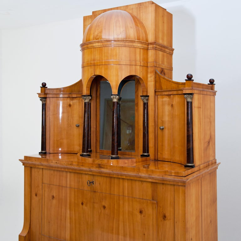 Biedermeier Secretaire, Central Germany, circa 1820 For Sale 8