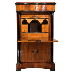 Biedermeier Secretary Desk, South German, 1820