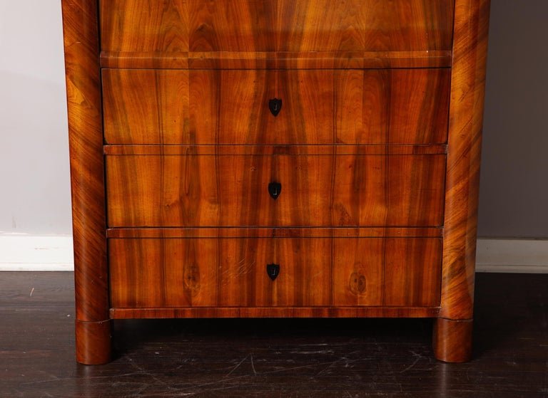 German Biedermeier Secretary For Sale