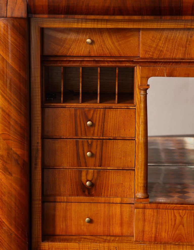 19th Century Biedermeier Secretary For Sale