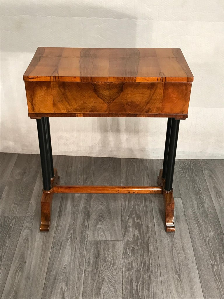 Early 19th Century Biedermeier Side- or Sewing Table, South German, 1815 For Sale