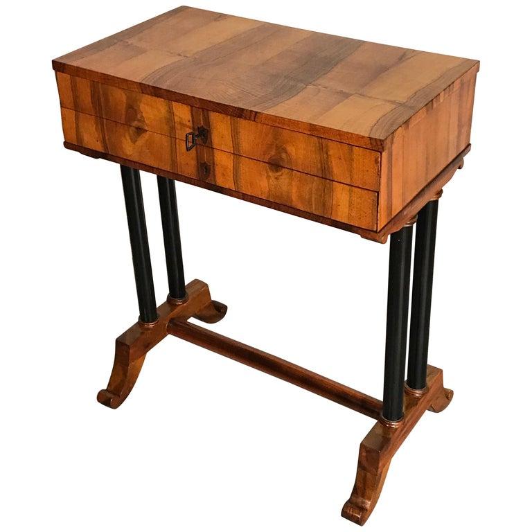 Biedermeier Side- or Sewing Table, South German, 1815 For Sale