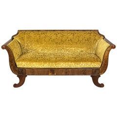 Biedermeier Sofa, circa 1860-1870