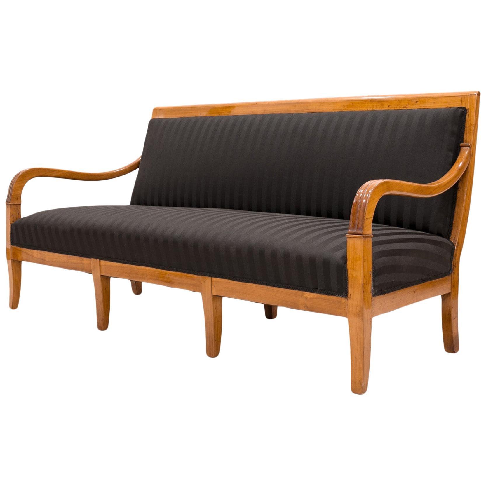 Biedermeier Sofa, France, 19th Century