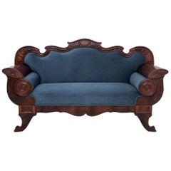 Biedermeier Sofa, Northern Europe, circa 1900