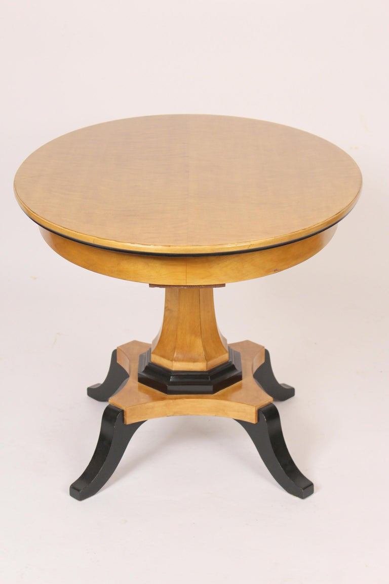 Biedermeier Style Occasional Table In Good Condition For Sale In Laguna Beach, CA