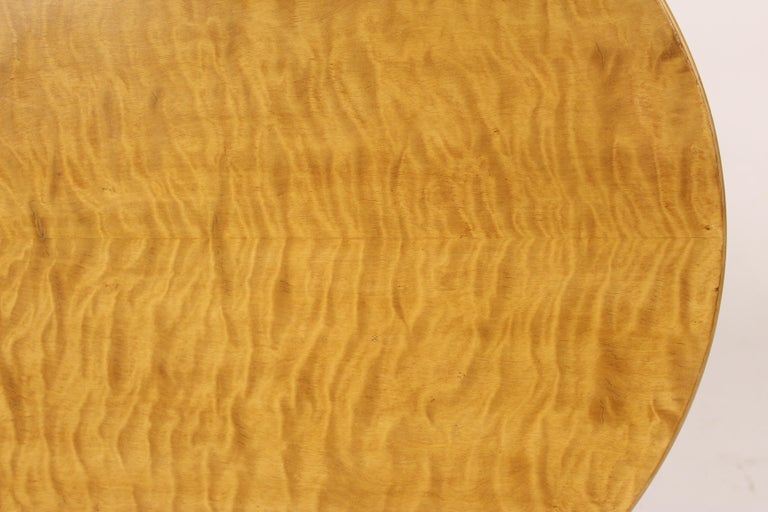 Wood Biedermeier Style Occasional Table For Sale