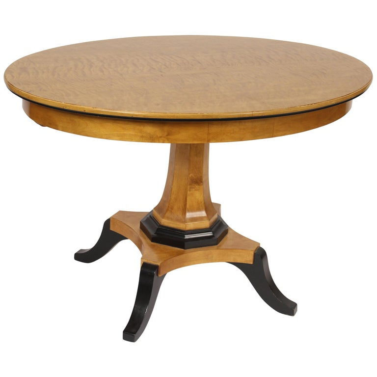 Biedermeier Style Occasional Table For Sale